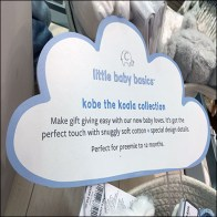 Koala Collection Clip-On Cloud Sign