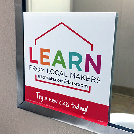 Learn-From-Local-Crafters Restroom Outreach
