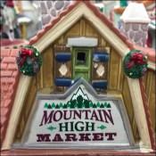 Lemax Mountain-High Halloween Market