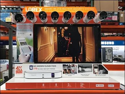 8-Camera Security System Pallet-Rack-Display