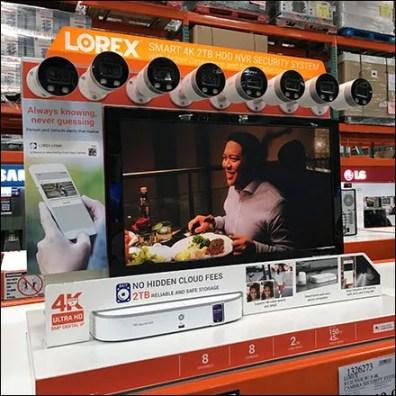Camera Security Pallet-Rack