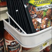 Grill-Mates C-Channel Deep Shelf-Edge Pouch Tray