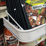 McCormicks Grill-Mates Pouch Double-Depth C-Channel Shelf-Edge Tray Aux