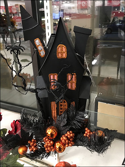 Halloween Haunted-House Holiday Prop
