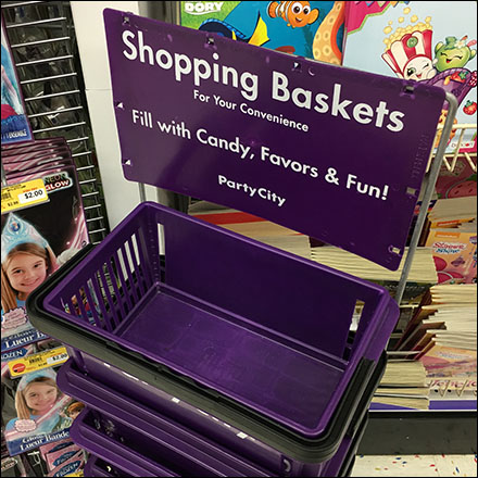 Party-City Fill-With-Fun Shopping Basket