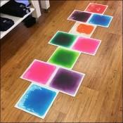 Skip-Hop Hop-Scotch In-Store Floor-Graphic