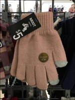 Touch-Screen-Glove Grid Display Hooks
