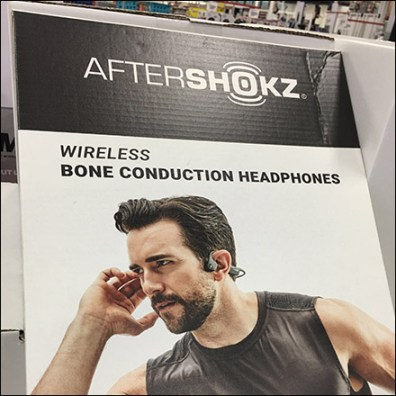 AfterShokz Bone-Conduction Headphone Display