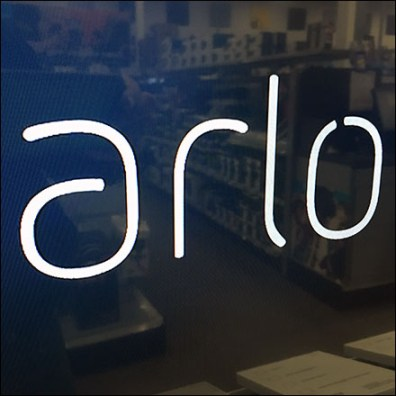 Arlo Video-System Endcap Display Logo