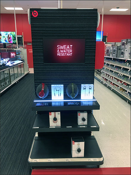 Beats Endcap Display Video Sells Itself