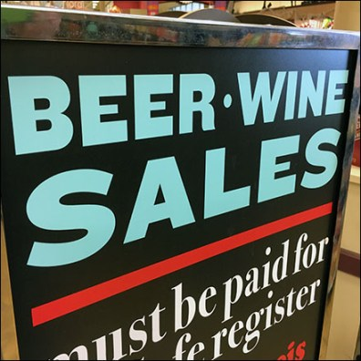 Beer-and-Wine Checkout Regulation
