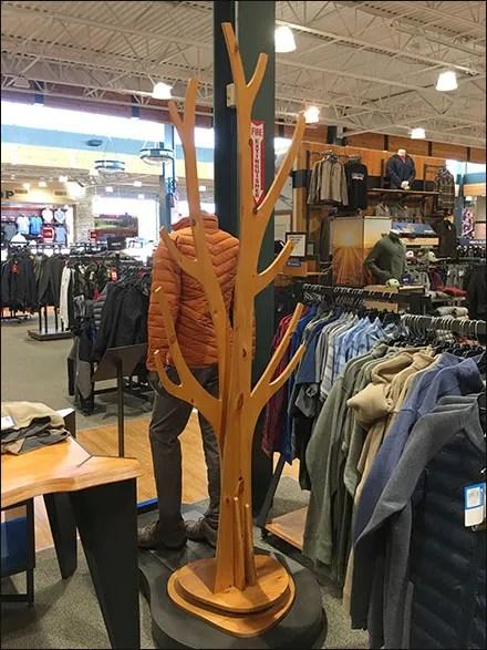 Columbia Sportswear Plywood-Tree Staging