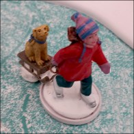 Lemax Ice-Skating-Pond Winter Fun Miniature