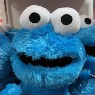 Macys Crowded Sesame Street Plush Tower Display Aux
