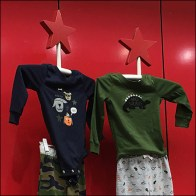 Macys Star-Crossed Stickman Apparel Display