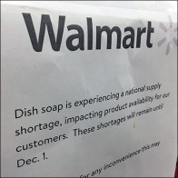 National Emergency Dish-Soap Warning at Walmart Feature