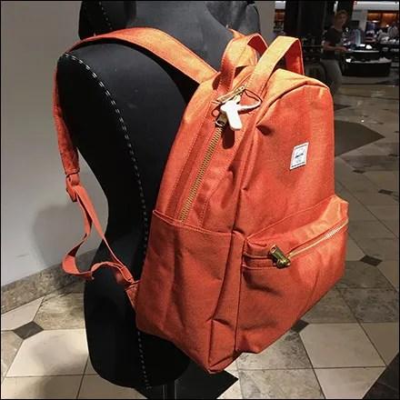 Nordstrom Backpack Parade Visual Merchandising