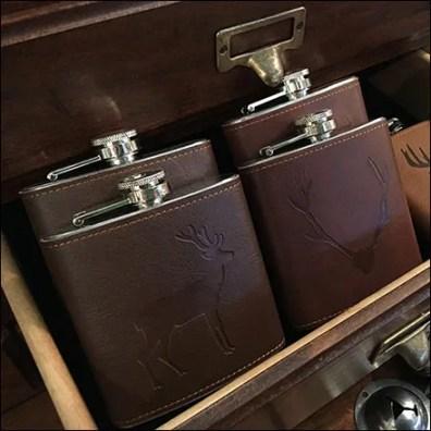 Rustique Hidden Hip-Flask Backstock Drawer