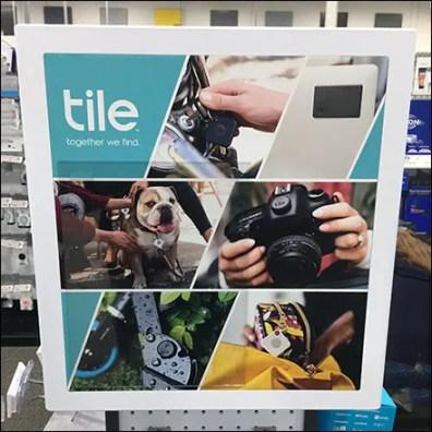 Tile Display Sign Branding Strategies