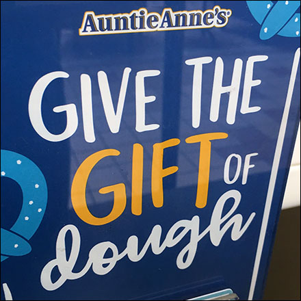 Auntie Anne's Gift-Of-Dough Gift Certificates
