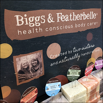 Briggs-&-Featherbelle Natural Soap Display Front