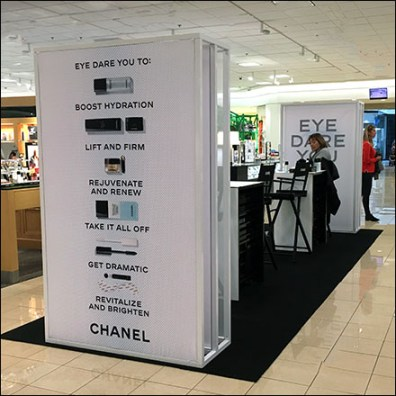 Chanel Eye-Dare-You Pop-Up Salon