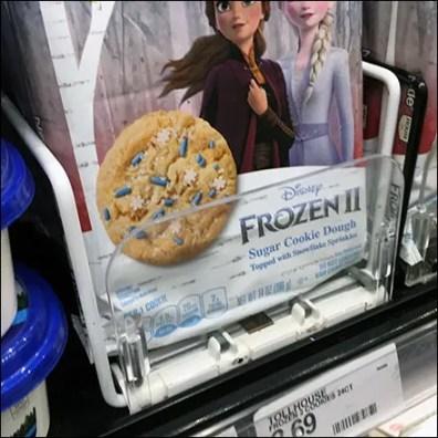 Disney Frozen Cooler Shelf Management