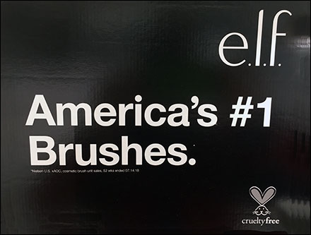 Elf Cruelty-Free Cosmetics Brush Promise