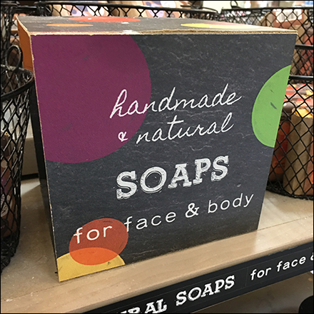 Handmade Natural Soap Die-Cut Display