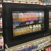 Shelf-Top Inline Gondola Cooler Display