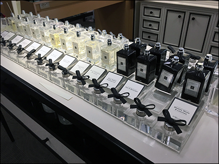 Jo Malone Fragrance Tester Bar Display