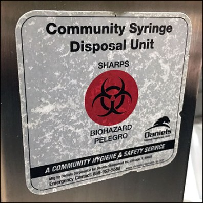 Kalahari Community Syringe Disposal Unit