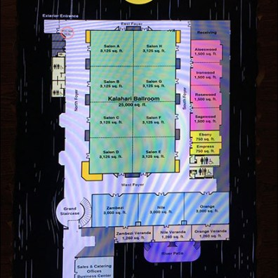 Kalahari-Convention-Center Digital Floor-Plan