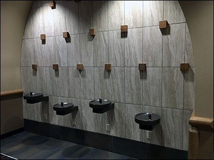 Kalahari Resort Staggered Water Fountains