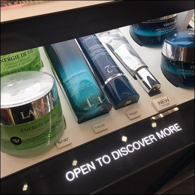 Lancome Open-to-Discover-More Cosmetic Drawer