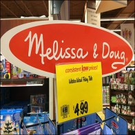 Melissa-&-Doug Book Merchandising Tower Spinner