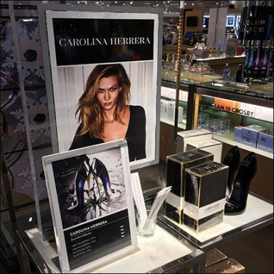 Nordstrom Carolina Herrera GoodGirl Freestanding Display Aux