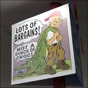 Ollie's Bargains Not-A-Crock Promise