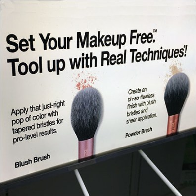 Eco-Tool Real Cosmetics Brush Samples