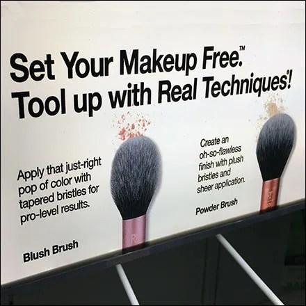 Eco-Tool Real Cosmetics Brush Samples