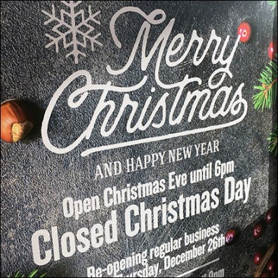 Merry Christmas Store Hours and More