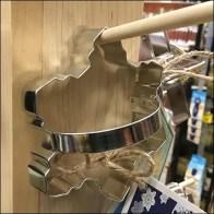 Cookie-Cutter Wood Peg Merchandising