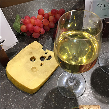 Wegman's Holiday Wine-and-Cheese Propping