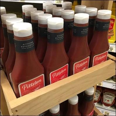 Pittston Tomato-Ketchup Wood Tower Display