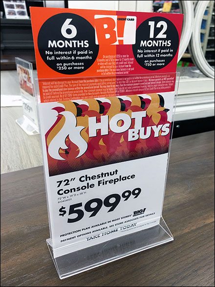 Hot-Deals No-Interest Fireplace Financing