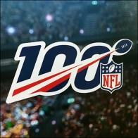 Bud Light Goalpost Game Day Display NFL Logo