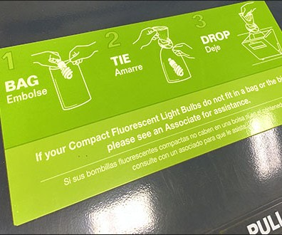 Comprehensive CFL Recycling Instructions