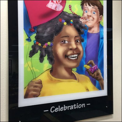 Chuck E Cheese Celebration Lifestyle Poster