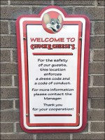 Chuck E Cheese Welcome Code of Conduct