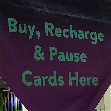 Chuck E Cheese Play Pass Refill Directional Banner Feature